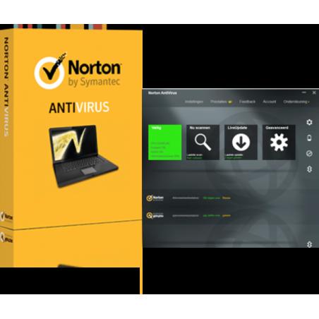 Norton AntiVirus 1-PC 1 jaar