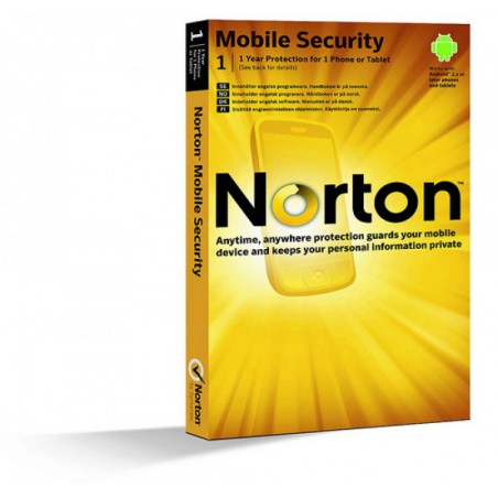 Norton Mobile Security 1-Device 1 Year
