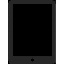 Aanbrengen glaslaag iPad...